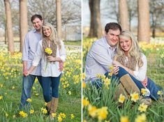 spring engagement pics. Tulips in March on Ole Miss campus?