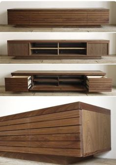 Best Simple Modern TV Stand Design Ideas for Your Home Tv Unit Furniture, Hall Furniture, Entertainment Furniture, Home Decor Furniture, Furniture Design, Tv Cabinet Design, Tv Wall Design, House Design, Tv Stand Decor