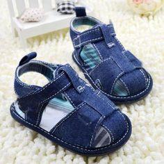 Baby Denim Sandals