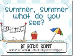 """Booklet, """"Summer, Summer What Do You See?"""" (free)"""