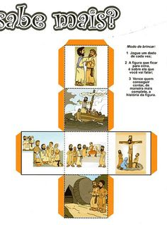 Bible Story Crafts, Bible Stories, Bible For Kids, Diy For Kids, Kids Class, Sunday School Crafts, Bible Lessons, Paper Toys, Easter