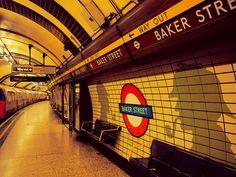 Estacion de Metro de Baker Street, Londres