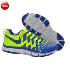 99dc1caee7ffd Nike Volt Hyper bleu-blanc chaussures de sport