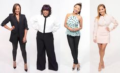 """""""The Real"""" is led by five bold, diverse and outspoken hosts -- Tamar Braxton, Tamera Mowry, Loni Love, Jeannie Mai, and Adrienne Bailon."""
