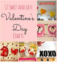 Get Creative this Valentine's Day with 12 Simple and Sweet Crafts