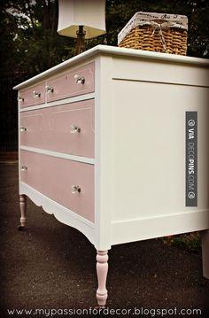 Sweet! - White & Antoinette | CHECK OUT MORE DRESSER IDEAS AT DECOPINS.COM | #dressers #dresser #dressers #diydresser #hutch #storage #homedecor #homedecoration #decor #livingroom