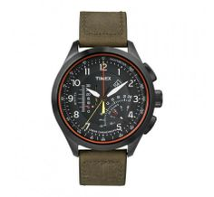 Watches Ideas gift for boyfriend! Timex® 'Intelligent Quartz' Linear Chronograph Watch, available at Discovred by : Todd Snyder Best Kids Watches, Amazing Watches, Beautiful Watches, Cool Watches, Watches For Men, Timex Watches, Nordstrom, E 10, Green Leather
