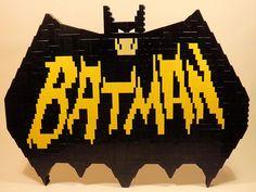 LEGO Vintage Batman Logo