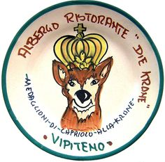 Vipiteno - Albergo Ristorante Die Krone: Medaglioni di capriolo alla Krone (nov. 89 - dic. 91)