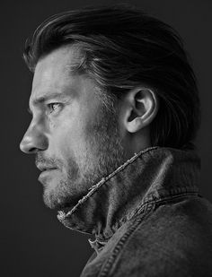 Game Of Thrones Star Nikolaj Coster-Waldau by Hasse Nielsen for Cover Man #photography #blackandwhite #bw