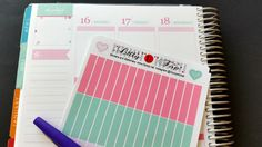 May 2016, Pink, Pastel, Organizing Stickers, Headers, Note Section, Planner Stickers, Fits Erin Condren, Plum, LillyP an others, Kiss Cut by LillyTop on Etsy