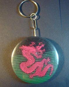 Set of 5 Dragon Flag Keychain/bottle opener . $9.99