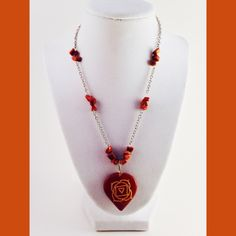 Root Chakra Stone Necklace by HeartfeltHemp on Etsy https://www.etsy.com/listing/213192401/root-chakra-stone-necklace