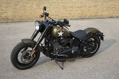 Softail Slim Read all about the 2016 Harley-Davidson models: http://motorbikewriter.com/2016-harley-davidson-model-line-up/