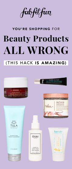 Click through to find out this incredible HACK - we promise you'll never shop for beauty products the same way again. *** HINT HINT: There's a promo code too!