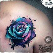 Blau ist das neue Schwarz Trendy Tattoos, Unique Tattoos, New Tattoos, Small Tattoos, Cool Tattoos, Ankle Tattoos, Unique Tattoo Designs, Tattoo Designs For Women, Tattoos For Women