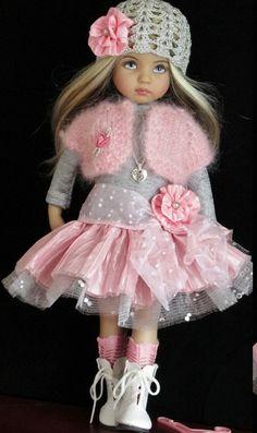 Effner Little Darling Dolls Handmade Clothes American Girl Outfits, Ropa American Girl, Pretty Dolls, Cute Dolls, Beautiful Dolls, Child Doll, Girl Dolls, Baby Dolls, Ag Doll Clothes