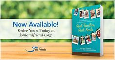 This week, we're so excited to share our brand-new book, Real Families, Real Needs with you! Because when it comes to caring for loved ones affected by disability, we want to stand by your side and help you find comfort in a community that understands. Encouragement Scripture, Heart Real, Real Family, Recommended Books, Stand By You, Book Recommendations, Disability, Read More, New Books