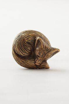 Forest Critter Knob - anthropologie.com