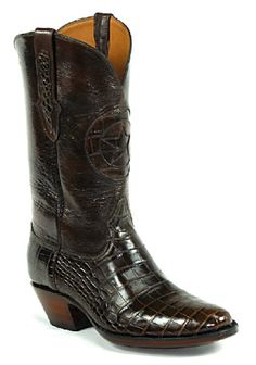 American Alligator Boots Style 188 Custom-Made by Black Jack Boots