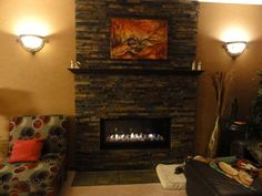Beautify your home with stone veneer. Here are all the DYI steps you'll need to create your own stone veneer fireplace surround. Stone veneer will add warmth and value to your home.