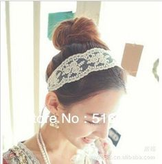 >> Click to Buy << fashion women headband lace flower hair band stylish hair accessory for women 2colors free shipping #Affiliate