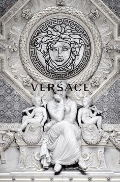 Versace iphone wallpaper iphone wallpapers 4 pinterest - Versace logo wallpaper hd ...