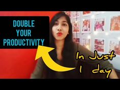 How to be more productive in Life & Work. Want to get stuff done and gain more time? Here are 15 ways to be more productive. I have been a sucker for time, a. How Can I Get, How To Become, Improve Productivity, Positive Mindset, Getting Things Done, Social Media, Motivation, Day, Youtube