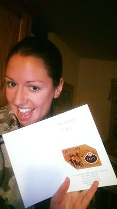 Oh Yea! See that?! The look of happiness!  Don't know what to get her?! Start the year off right and send her the gift of a Prois Gift card! www.proishunting.com