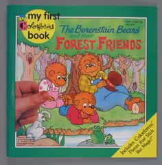 """Berenstain Bears' My First Colorforms """"Forest Friends"""""""