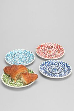 Medallion Side Plate Set - Urban Outfitters