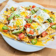 Breakfast Nachos By Katie Lee