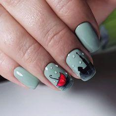 Cute Nails For Fall, Really Cute Nails, Love Nails, Pretty Nails, Fall Nail Art Designs, Toe Nail Designs, Nail Swag, Taupe Nails, Bright Pink Nails