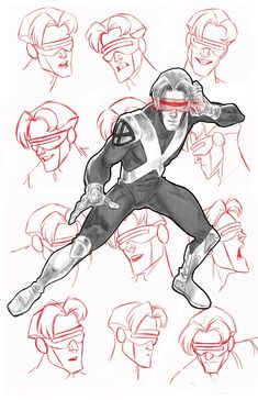 X-Men Evolution's Cyclops by Steven E Gordon