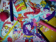 del cuaderno a la calle Día 3 Eze Titi www.flickr.com/mind_set