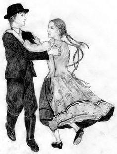 """Képtalálat a következőre: """"kifestő népi tánc"""" Folklore, Statue, Traditional, Painting, Design, Art, Art Background, Painting Art, Kunst"""