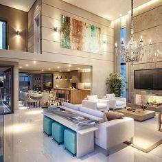 Bom dia com este living incrível. Como não amar?! Inspiração via @arquitetura.addicts Me encontre também no @pontodecor {HI} Snap: hi.homeidea www.homeidea.com.br #bloghomeidea #olioliteam #arquitetura #ambiente #archdecor #archdesign #hi #cozinha #homestyle #home #homedecor #pontodecor #homedesign #photooftheday #love #interiordesign #interiores #picoftheday #decoration #world #lovedecor #architecture #archlovers #inspiration #project #regram #canalolioli #espacosintegrados
