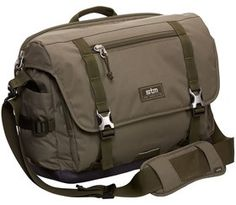 "STM Trust 15"" Laptop and Tablet Bag in Olive Green $126.99 at LOOKUP.shop"
