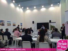 Vinitaly_2016 - Le strade del vino Puglia Leone De Castris