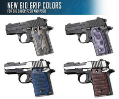 New Hogue G10 Grip Colors For SIG SAUER P238 / P938 Find our speedloader now! http://www.amazon.com/shops/raeind