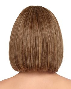 by Louis Ferre Wigs - Human Hair, Hand Tied, Monofilament, Lace Front Wig Best Bob Haircuts, Wavy Bob Hairstyles, Round Face Haircuts, Lob Hairstyle, Trending Hairstyles, Little Girl Bob Haircut, Blonde Bob Haircut, Short Hair Cuts, Short Hair Styles