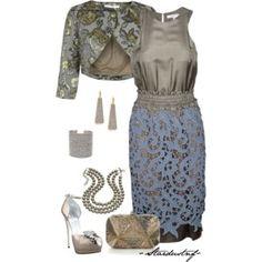 Carven Lace Silvia Dress