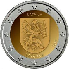 monedas de 2€ cc Letonia 2017