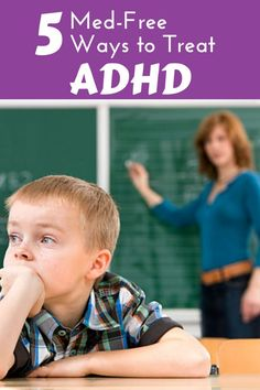 Re-pin to save this list of natural ways to treat ADHD