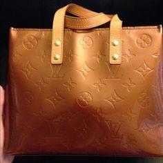 Authentic Louis Vuitton bronze Vernis handbag In excellent condition no stains or odors Louis Vuitton Bags Mini Bags