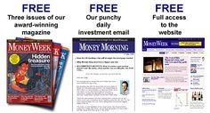 three weeks money free magzine !