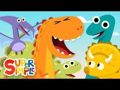 The best dinosaur songs for preschool, pre-k, and kindergarten kids. Your kids will love these fun and engaging dinosaur songs! Dinosaur Songs For Preschool, Dinosaur Activities, Dinosaur Crafts, Preschool Activities, Dinosaur Pet, Dinosaur Eggs, Kids Songs With Actions, Math Songs, Counting Songs