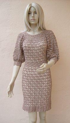 Crocheted dress  made to order crochet handmade by dosiak on Etsy, $150.00