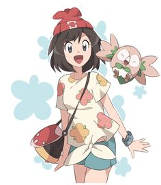 The new Sun and Moon trainer with Rowlet!