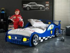 45 kids' car beds. How can anyone sleep in anything this cool?